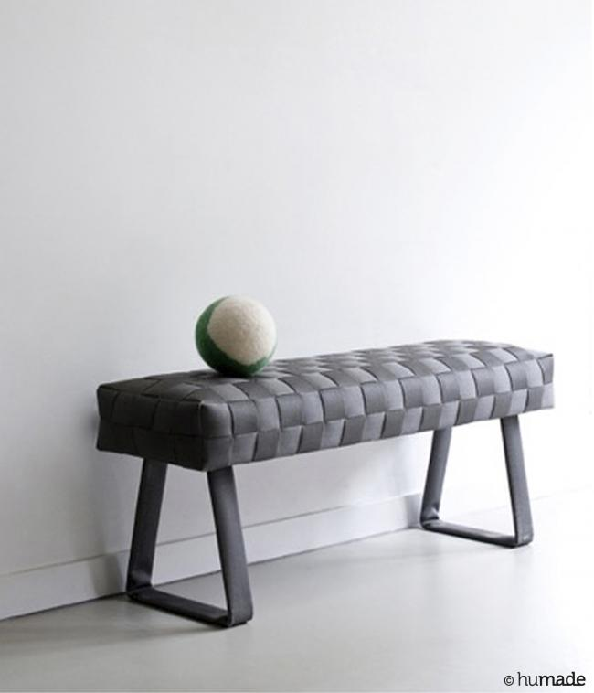 hu-made fire / Teide - The interior collection 'hu-made fire' by Humade is made of ex-fire-hose. This great tex...