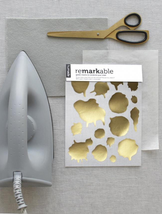 reMARKable - Do you have a stain that can not be removed? No worries, mark it! reMARKable is a new solution for y...