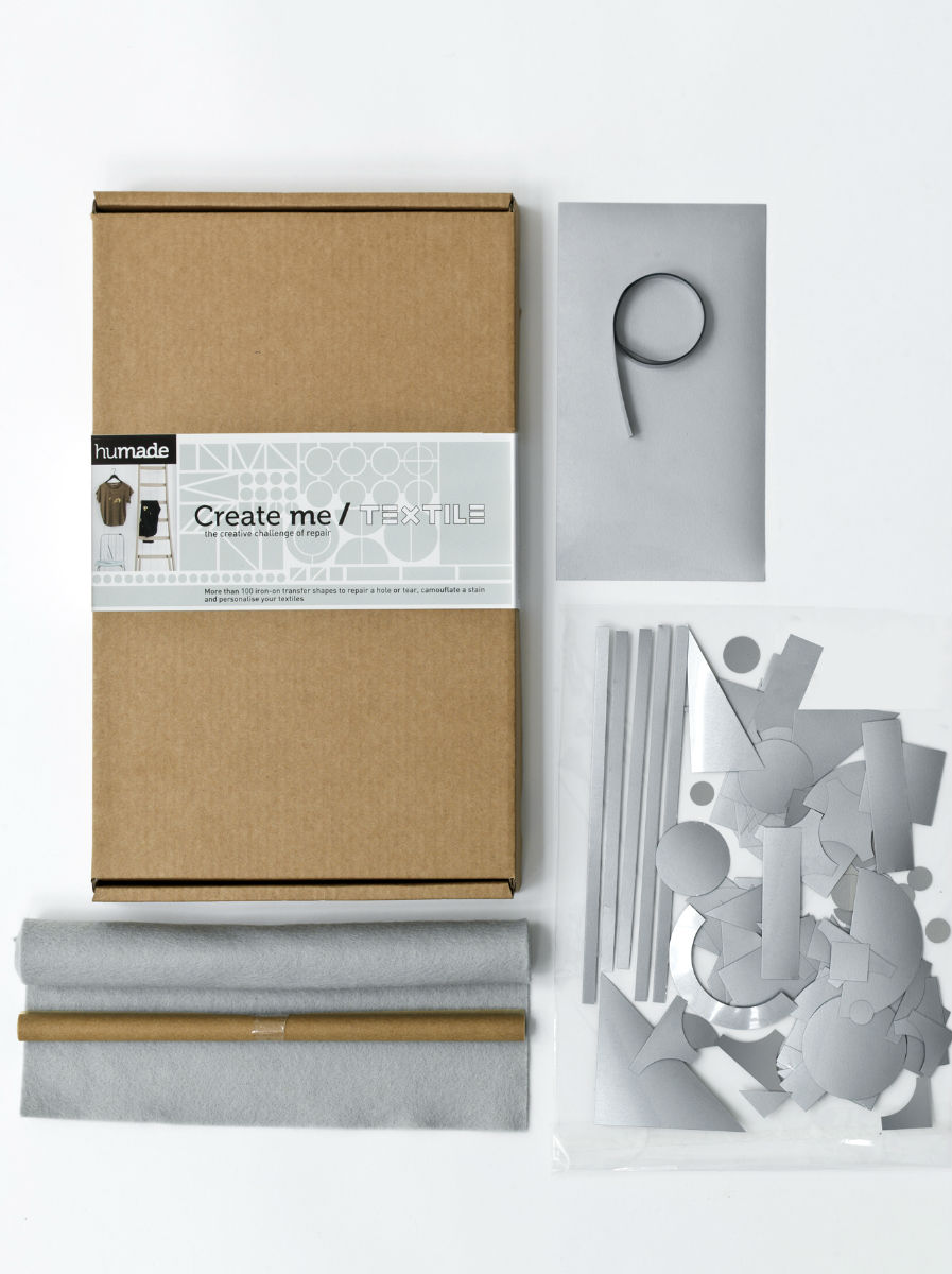 Create me / TEXTILE - A whole, tear or stain gives you the opportunity to create and personalise.  This brand new kit...